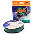 0209550 Шнур плетеный Fins WindTamer, 0,32, 50lb, 270 м, темно-зеленый