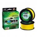 0209521 Шнур плетеный Power Pro, 0,32 мм , 24 кг, 275 м, желтый