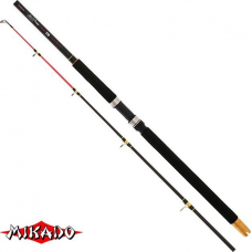 1001000 ПРОКАТ: Удилище 2-частное MIKADO CATfish 240, карбон, длина 240 см, тест 300-600 гр. С хвостовиком для пояса-упора. Указана цена проката до 10 дней