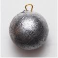 0198030 Грузило свинцовое, неокрашенное. Форма: шар. Вес 4 унции (115 гр)